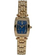 Krug Baümen 1964DL Tuxedo Diamond Blue Dial Ladies Watch