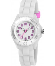 Tikkers Girls White Watch