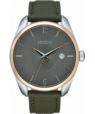 Nixon A473-2214 Ladies Bullet Leather Rose Gold Taupe Watch