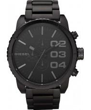 Diesel DZ4207 Mens Double Down Black Chronograph Watch