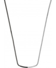 Emporio Armani EGS2128040 Mens Composition Two Tone Steel Necklace