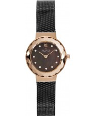 Skagen 456SRM Ladies Klassik Charcoal Black Mesh Watch