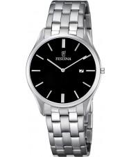 Festina F6840-4 Mens Classic Silver Steel Bracelet Watch