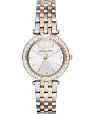 Michael Kors MK3405 Ladies Mini Darci Two Tone Steel Bracelet Watch