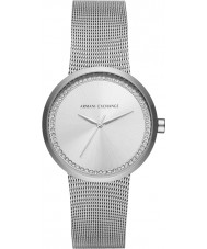 Armani Exchange AX4501 Ladies Liv Silver Steel Bracelet Watch
