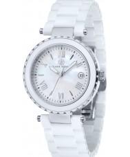 Klaus Kobec KK-10005-01 Ladies Venus White Ceramic Watch