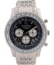 Krug-Baumen 600303DS Mens Air Traveller Diamond Watch