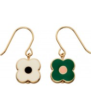 Orla Kiely E5472 Ladies Camille Earrings