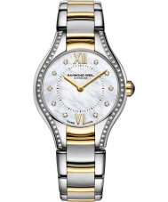 Raymond Weil 5124-SPS-00985 Ladies Noemia Two Tone Steel Diamond Watch