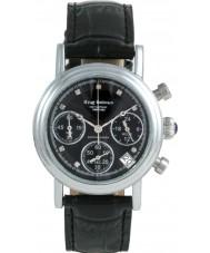 Krug-Baumen 150581DL Enterprise Diamond Black Dial