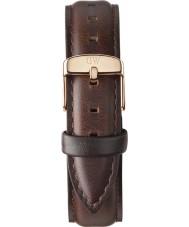 Daniel Wellington DW00200039 Ladies Classic Bristol Rose Gold 18mm Strap