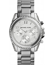 Michael Kors MK5165 Ladies Silver Tone Chronograph Watch