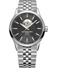 Raymond Weil 2710-ST-20021 Mens Freelancer Silver Steel Bracelet Watch