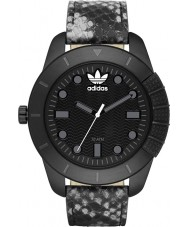 Adidas ADH3043 Mens ADI-1969 Black IP Animal Print Watch