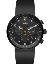 Braun BN0095BKBKBKG Mens Prestige Black Chronograph Watch