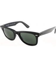 RayBan RB2140 50 Original Wayfarer Black Green 901 Sunglasses