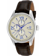 S Coifman SC0169 Mens Brown Leather Strap Watch