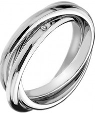 Hot Diamonds DR143-N Ladies Trio Ring