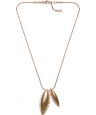 Skagen SKJ0486791 Ladies Ditte Rose Gold Tone Steel Necklace