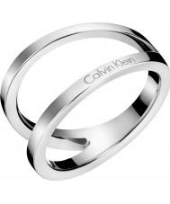 Calvin Klein KJ6VMR000107 Ladies Outline Ring