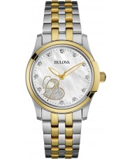 Bulova 98P152 Ladies Diamonds Watch