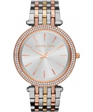 Michael Kors MK3203 Ladies Darci Tri Tone Watch