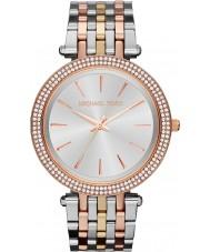 Michael Kors MK3203 Ladies Darci Tri Tone Watch
