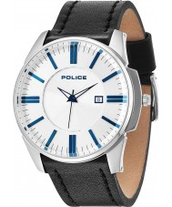 Police 14384JS-04 Mens Governor Silver Black Watch