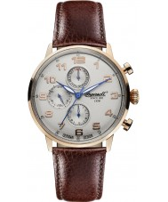 Ingersoll INQ037SLRS Mens Brown Leather Strap Watch