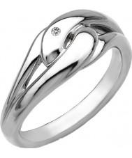 Hot Diamonds Ladies Go With The Flow Capture Me Ring