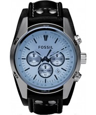 Fossil CH2564 Mens Coachman Black Leather Chronograph Watch