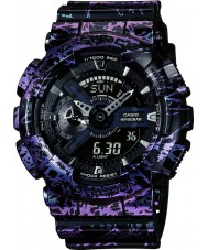 Casio GA-110PM-1AER Mens G-Shock World Time Multicoloured Combi Watch