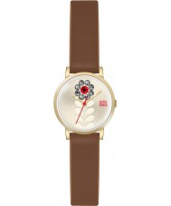 Orla Kiely OK2094 Ladies Valentina Tan Leather Strap Watch