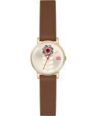 Orla Kiely OK2094 Ladies Valentina Tan Leather Strap Watch