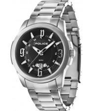 Police 14196JS-02M Mens Buckler Silver Steel Bracelet Watch