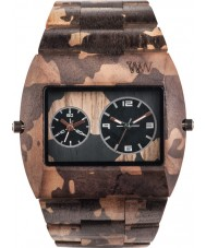 WeWOOD CAMONUT Camo Nut Wood Bracelet Watch