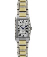 Dreyfuss and Co DLB00052-D-01 Ladies 1974 Diamond Set Two Tone Steel Watch
