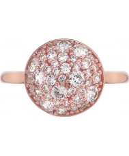 Emozioni Ladies Bouquet Rose Gold Plated Ring