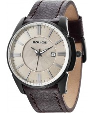 Police 14384JSB-19 Mens Governor Beige Brown Watch