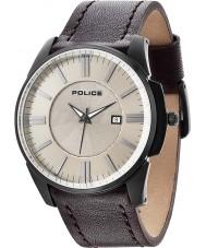 Police 14384JSB-19 Mens Governor Beige Brown Watch