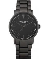 Daisy Dixon Ladies Kate Matt Mirror Gunmetal Bracelet Watch