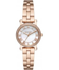 Michael Kors MK3558 Ladies Norie Rose Gold Plated Bracelet Watch