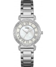Guess W0831L1 Ladies South Hampton Silver Steel Bracelet Watch