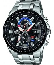 Casio EFR-550D-1AVUEF Mens Edifice Silver Steel Bracelet Watch
