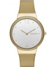 Skagen SKW2519 Ladies Freja Gold Plated Mesh Watch