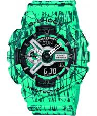 Casio GA-110SL-3AER Mens G-Shock World Time Blue Combi Watch