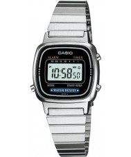 Casio LA670WEA-1EF Collection Silver Digital Watch
