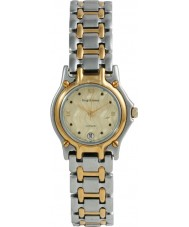 Krug-Baumen 4122KM Gents Marquis Two Tone Gold Dial