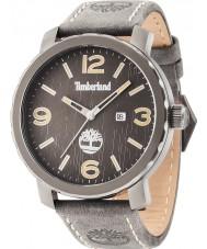 Timberland 14399XSU-13 Mens Pinkerton Grey Leather Strap Watch