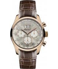 Ingersoll INQ038SLRS Mens Brown Chronograph Watch